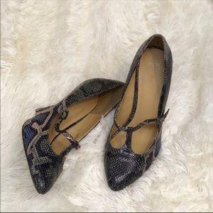 ASOS snake print heel